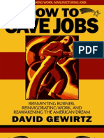 How to Save Jobs by David Gewirtz