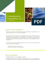 contaminación troposferica
