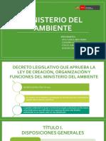 02 Ministerio Del Ambiente Legislacion