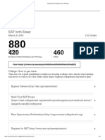 dashboard   student score reports