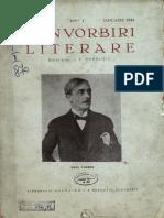Convorbiri Literare anul LXXVII, nr.1, ian. 1944