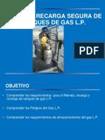 RECARGA DE GAS L.P.