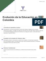 Linea de Tiempo de La Educacion en Colombia (2)