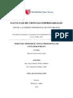 Marreros_cv_2016_Actividades de Operación y Su Incidencia en La Rentabilidad de La Empresa Multicar