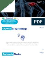Capacitacion de Desordenes musculoesqueleticos