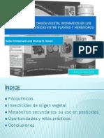 INSECTICIDAS DE ORIGEN VEGETAL INSPIRADOS EN LAS INTERACCIONES.pptx