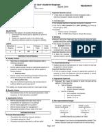 [RES] 3.03 Critical Appraisal User's Guide for Diagnostics Dr. Zulueta