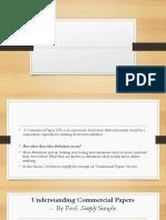 Presentation For Commercial Paper 2019