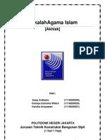 Makalah Akhlaq (Kel 1) PDF