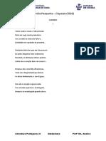Poemas Camilo Pessanha