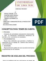 diagrama de operaciones de procesos