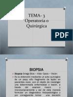 Patologia Tema 3 Operatorias o Quirurgicas 2019