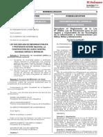 DECRETO SUPREMO N° 093-2019-PCM