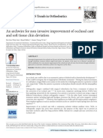 An Archwire for Non-Invasive Improvement of Occlusal Cant and Soft Tissue Chin Deviation