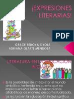 EXPRESIONES LITERARIAS!