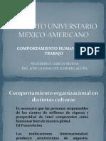 Comportamiento Organizacional en Distintas Culturas