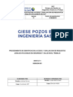 PROCEDIMIENTO DE REQUISITOS LEGALES