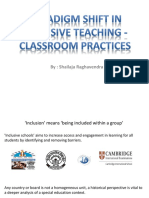 Paradigm Shift in Inclusive Schooling-converted
