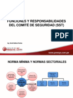 Funciones Del Comité de Seguridad