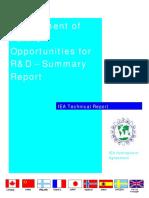 AnnexII Assessment RandD Opportunities[1]