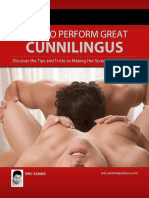 Eric Samms - How to Perform Great Cunnilingus
