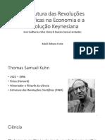 A Estrutura Das Revoluções Científicas Na Economia