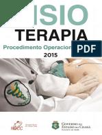 Fisioterapia procedimentos Operacionais.