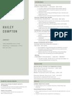 hailey compton resume