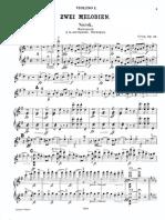 Grieg Edvard Melodies Violins