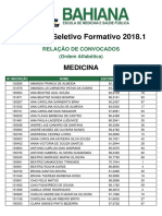Bahiana Processo Seletivo Formativo 2018 1 Medicina Convocados 20171215114049