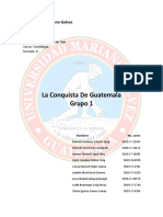 1 LA CONQUISTA DE GUATEMALA Grupo 1 Sección A.docx