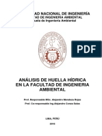 Informe Final de Huella Hidrica Unifia-rev