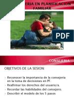 Consejeria en Pf