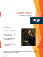 Drama_Week 4-5_Anton Chekhov_The Brute.ppt