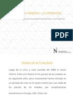 Gest Operac - La Operación Minera