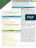 Actividad de Aprendizaje 4 Evidencia Cuadro Comparativo Políticas de Calidad