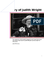 Poetry of Judith Wright.doc