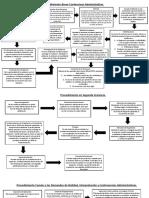 Esquemas de Procedimientos Contenciosos Administrativos