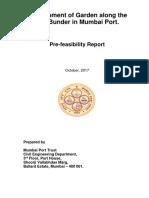 18_Oct_2017 - Pre-feasibility Report for Development of Garden