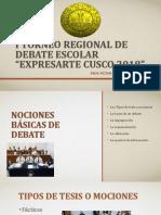 Capacitación a Profesores de Los Torneos Expresarte 2018
