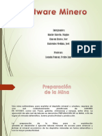 Software Minero Avance 1