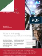 Online Master of Wind Energy