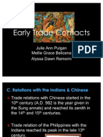 Early Trade Contacts