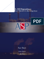Factsheet - U.S. Oil Dependence