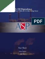 Factsheet - U.S. Oil Dependence