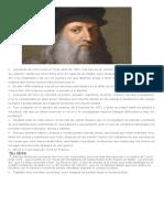 Biografia de Leonardo Da Vinchi y Dos Obras