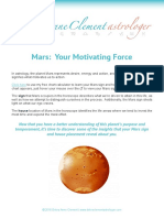 Mars Your Motivating Force DAClement