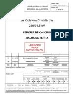 C.73.BR.W.65482.16.105.01 - Memória de Cálculo - Malha.pdf