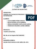 Manual Planta Catalítica