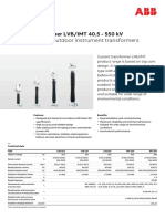 LVBIMT 40.5 - 550 kV
